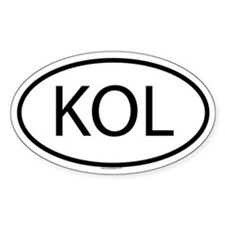 KOL Oval Decal
