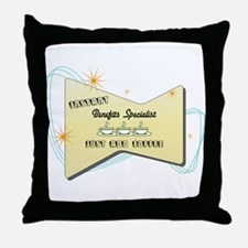Instant Benefits Specialist Throw Pillow