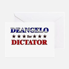 DEANGELO for dictator Greeting Card