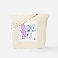 Funny Seahorse Tote Bag
