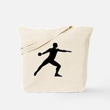 Discus throw Tote Bag