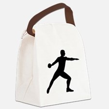 Discus throw Canvas Lunch Bag