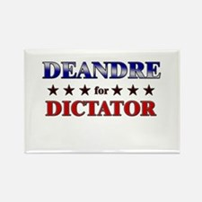 DEANDRE for dictator Rectangle Magnet