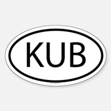 KUB Oval Decal
