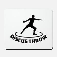 Discus throw Mousepad