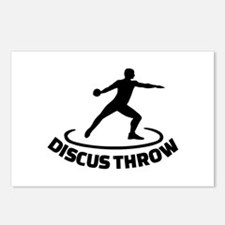 Discus throw Postcards (Package of 8)