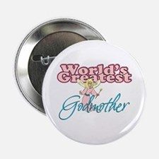 "World's Greatest Godmother 2.25"" Button"