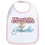 World's Greatest Godmother Bib