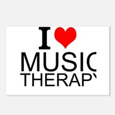I Love Music Therapy Postcards (Package of 8)