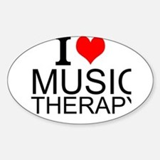 I Love Music Therapy Decal