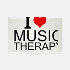 I Love Music Therapy Magnets