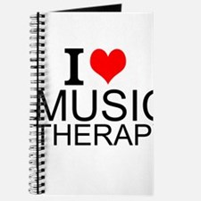 I Love Music Therapy Journal