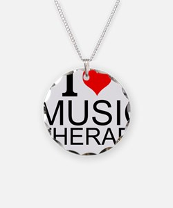 I Love Music Therapy Necklace