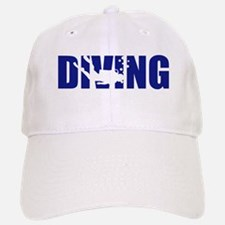 Diving Baseball Baseball Cap