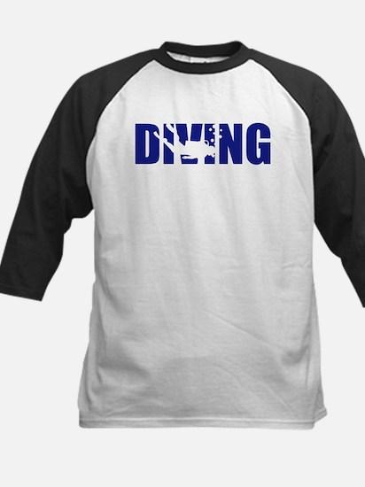 Diving Kids Baseball Jersey