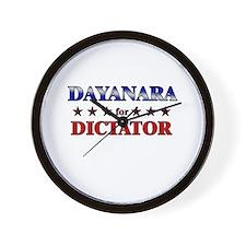 DAYANARA for dictator Wall Clock
