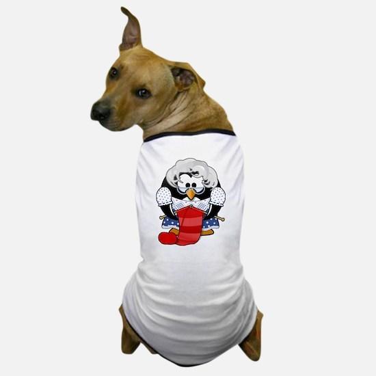 Unique Knitting cartoon Dog T-Shirt