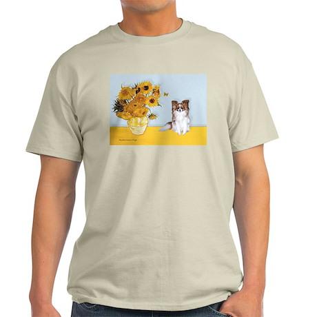 Sunflowers / Papillon(f) Light T-Shirt