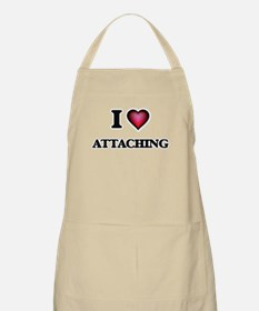 I Love Attaching Apron