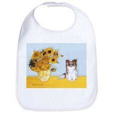Sunflowers / Papillon(f) Bib