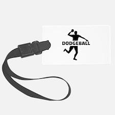 Dodgeball Luggage Tag