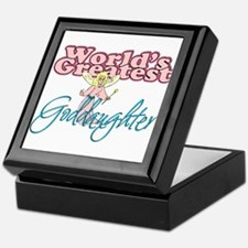 World's Greatest Goddaughter Keepsake Box