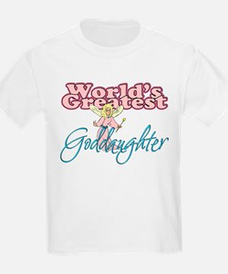 World's Greatest Goddaughter T-Shirt