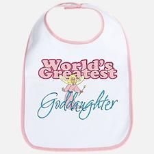 World's Greatest Goddaughter Bib
