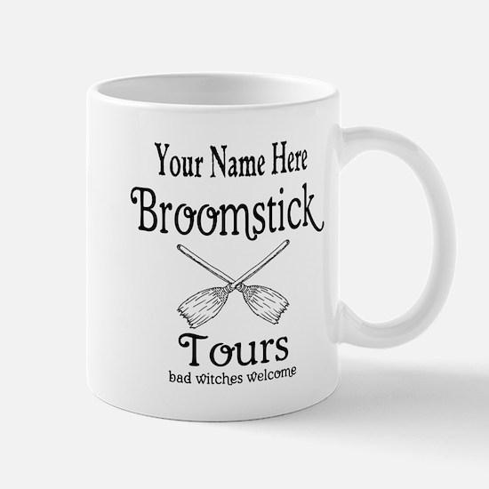 broomstick tours Mugs