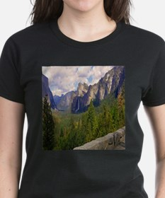 mountain And waterfall T-Shirt