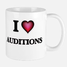 I Love Auditions Mugs