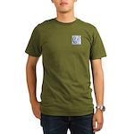 Monogram - Couper of Gogar Organic Men's T-Shirt (