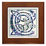 Monogram - Couper of Gogar Framed Tile