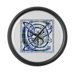 Monogram - Couper of Gogar Large Wall Clock