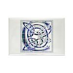Monogram - Couper of Gogar Rectangle Magnet (100 p