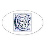 Monogram - Couper of Gogar Sticker (Oval 50 pk)