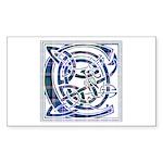 Monogram - Couper of Gogar Sticker (Rectangle 50 p