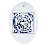 Monogram - Couper of Gogar Ornament (Oval)