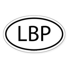 LBP Oval Decal