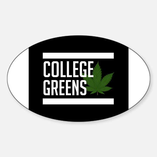 College Greens Decal