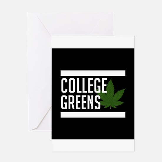 College Greens Greeting Cards