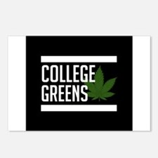 College Greens Postcards (Package of 8)