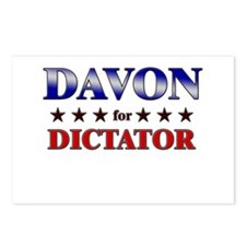 DAVON for dictator Postcards (Package of 8)