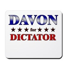 DAVON for dictator Mousepad