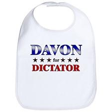 DAVON for dictator Bib