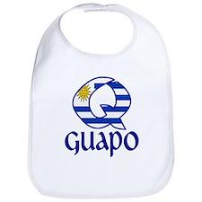 Cute Flag uruguay Bib