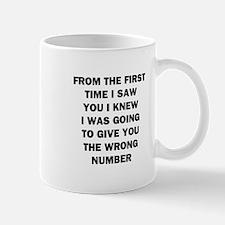 Wrong Number Mug