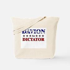 DAVION for dictator Tote Bag