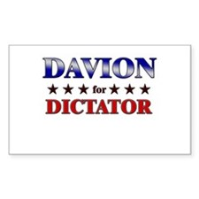 DAVION for dictator Rectangle Decal