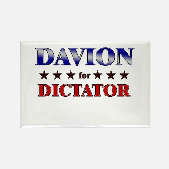 DAVION for dictator Rectangle Magnet